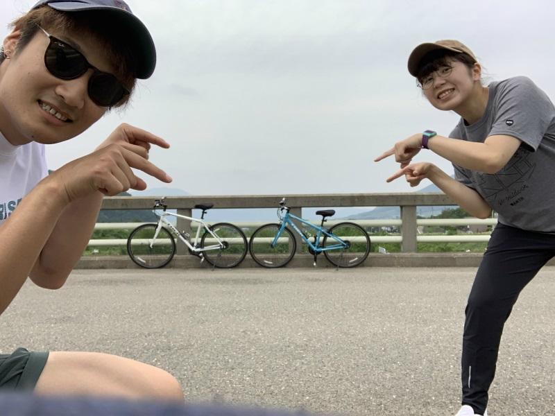 湯田中の橋で