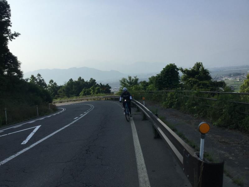 北信五岳道路自転車で上る
