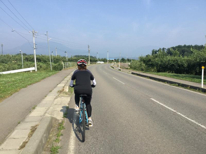 飯綱サンクゼールへサイクリング
