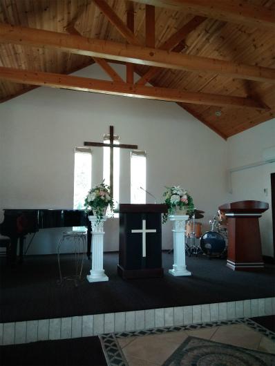 サンクゼール教会内部