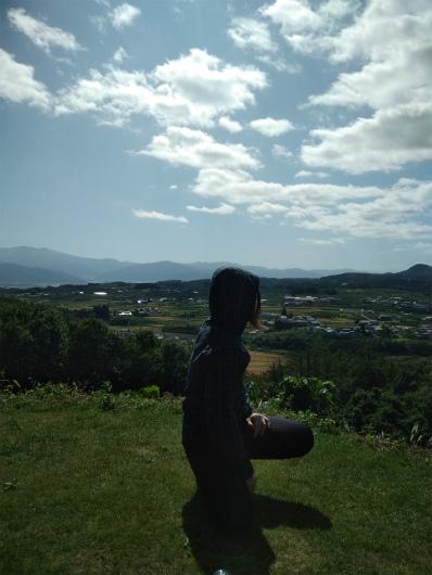 サンクゼールの丘からの眺め